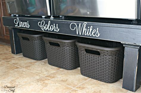 Washer Dryer Stand Diy Plans